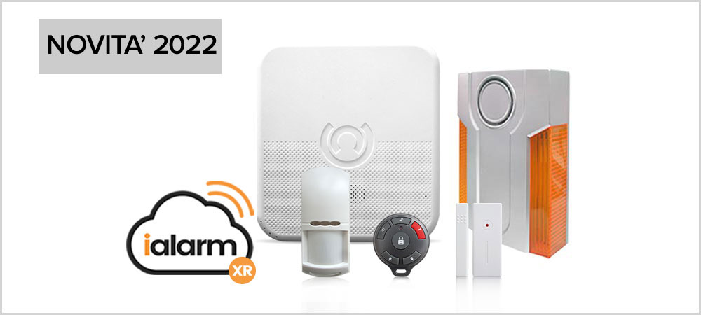 Kit iAlarm 3 Internet Gsm Sms